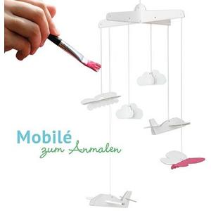 Mobile aus Pappe - Zum selbst Bemalen