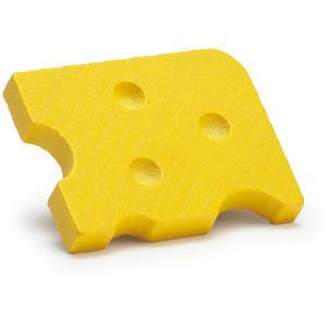 Schweizer Käse aus Holz - zum Spielen