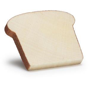 Toastbrotscheibe aus Holz - zum Spielen
