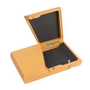 Visitenkartenetui aus edlem Holz - 'Card Case' Kirsche_geoelt