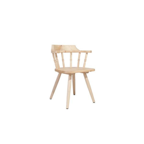 Stuhl aus Zirbenholz(Arve) - 'Sitbetter Native'