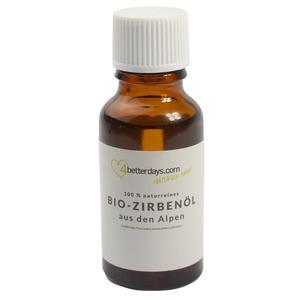 Reines Bio Zirbenöl 100 % naturrein 20 ml
