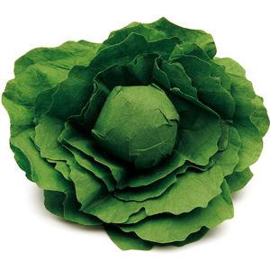 Salatkopf aus Holz - zum Spielen