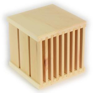 Duftwürfel aus Zirbenholz - 'Alpina's Box' 10/15/20 cm 10 x 10 x 10 cm