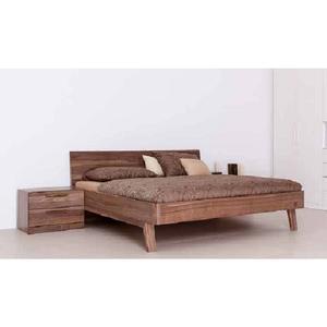 Klassisches Massivholzbett 'Style' - 140x200 Astfichte_hell_gewachst