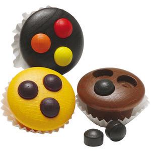 Muffins aus Holz - zum Spielen