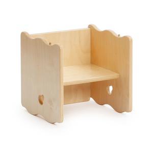 Multifunktionsstuhl - Mit zwei Sitzhöhen