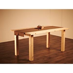 Massiver Holztisch 'Tablein' - im Landhaus-Stil kernbuche_natur_geoelt 160x90x75