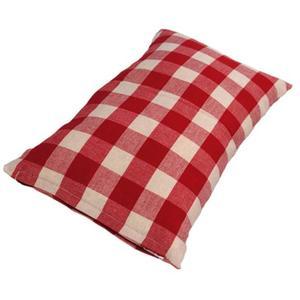 Zirbenduftkissen aus den Alpen rot Grosskariert - 'Pillow Mountain Lodge' 30x20 cm
