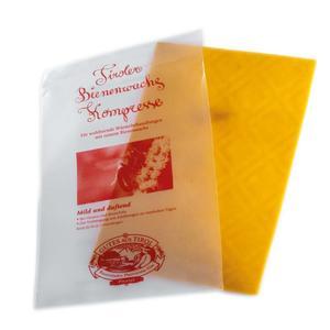 Kompresse aus alpinem Bienenwachs 22x14 - 'Bless & Impress'