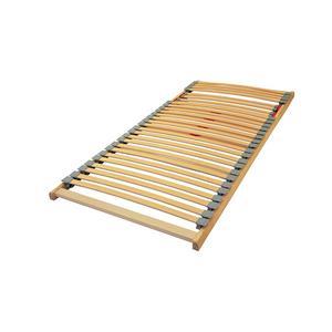 Buche-Vollholzlattenrost 'Flexi' 90 bis 140 cm Breite und Übergröße 100x210