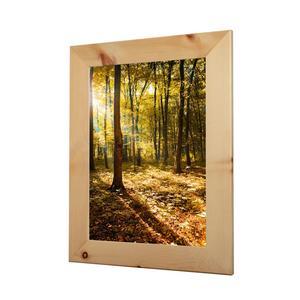 Bilderrahmen aus Zirbenholz in verschiedenen Größen für Bild DIN A3