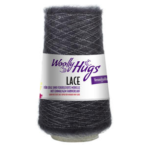 Woolly Hugs Lace anthrazit (98)