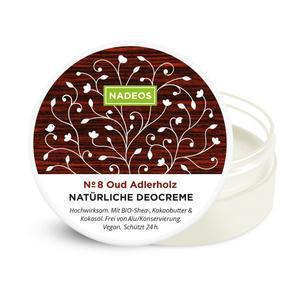 NADEOS Natürliche Deocreme Oud Adlerholz 40 g
