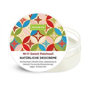 NADEOS Natürliche Deocreme Sweet Patchouli 40 g