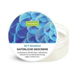 Natürliche Deocreme Sensitive