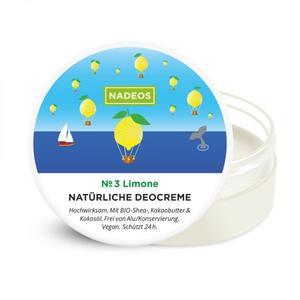 NADEOS Natürliche Deocreme Limone 40 g