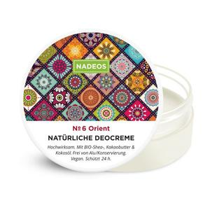 NADEOS Natürliche Deocreme Orient 40 g