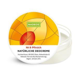 NADEOS Natürliche Deocreme Pfirsich 40 g