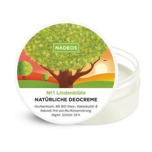 NADEOS Natürliche Deocreme Lindenblüte 40 g