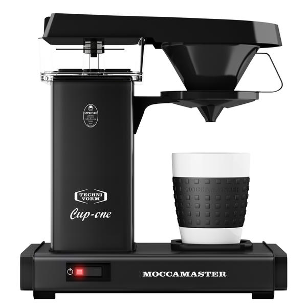MOCCAMASTER Cup One Matt Black | Filterkaffeemaschine | Coffee-to-Go selber zubereiten (69221)