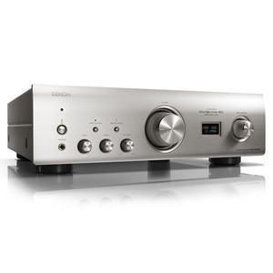 DENON PMA-1600NE premium silber | Hochwertiger Vollverstärker mit USB-D/A-Wandler für hochauflösende Audiodaten