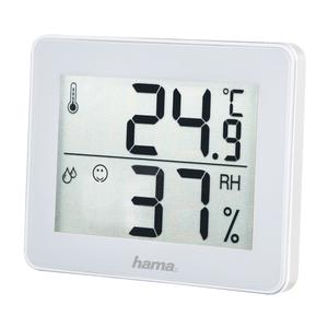 "HAMA 186360 Thermo-/Hygrometer ""TH-130"", Weiß"
