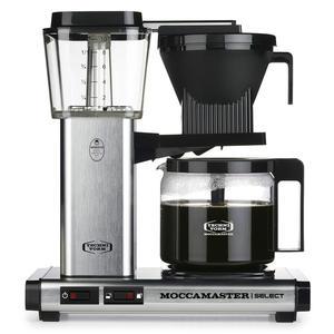 MOCCAMASTER KBG Select 53979 Brushed | Filterkaffeemaschine