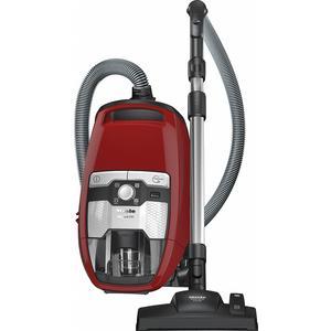 MIELE Blizzard CX1 Red PowerLine - SKRF3 | Bodenstaubsauger ohne Beutel mit EcoTeQ Plus-Bodendüse für stromsparendes Staubsaugen bei bester Reinigung.
