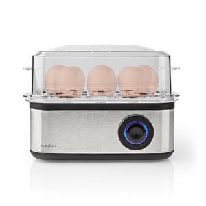 NEDIS KAEB130EAL | Eierkocher | 8 Eier | 3 Stufen | 500 Watt