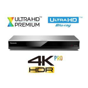 PANASONIC DP-UB424 silber | UHD Blu-ray Player - unterstützt HDR10+