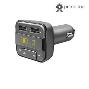 HAMA 183274 Bluetooth-FM-Transmitter mit USB-Ladefunktion, Grau