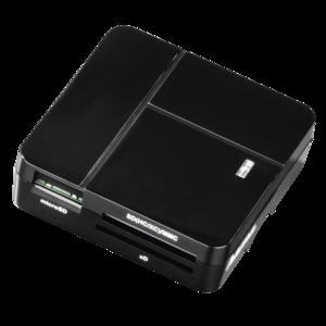 "HAMA USB-2.0-Multi-Kartenleser ""Basic"", Schwarz 94124"