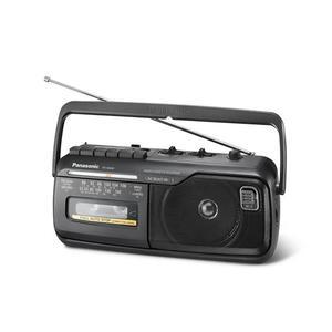PANASONIC RX-M40D schwarz | Radiorecorder mit Kassettendeck