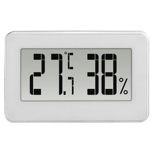 """HAMA 136297 Thermo-/Hygrometer """"Mini"""", Schwarz/Weiß"""