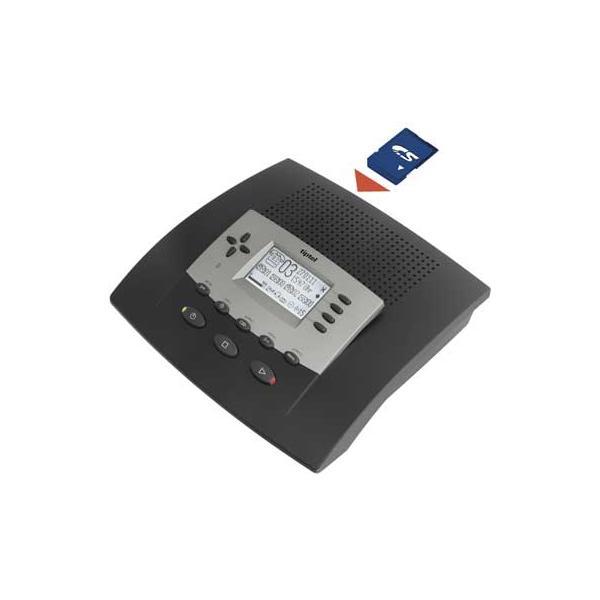 TIPTEL 540 SD office | Der Profi-Anrufbeantworter mit auswechselbarer Speicherkarte und Zeitsteuerung