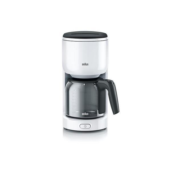 BRAUN KF3120WH weiß | PurEase Filter - Kaffeemaschine