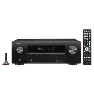 DENON AVR-X1600H schwarz   7.2 Kanal AV-Receiver mit Sprachsteuerung