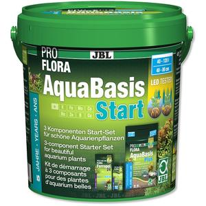 JBL PROFLORA AquaBasis Start - Pflanzendünger Start-Set für Süßwasser-Aquarien 3 kg