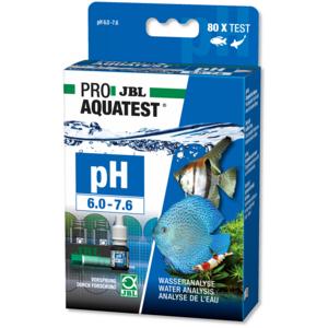 JBL PROAQUATEST pH 6.0-7.6 - Schnelltest zur Bestimmung des pH-Wertes in Süßwasser Aquarien im Bereich 6,0-7,6 Für: 80 Tests