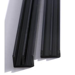 Glasführungsschienen für 4mm Glas (unten) je 1 1/2 Meter