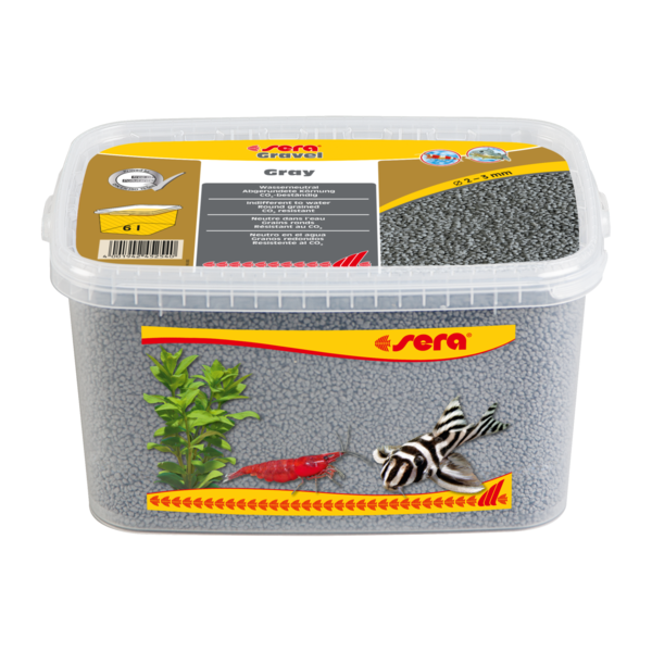 sera Gravel Gray 2-3 mm 6 l