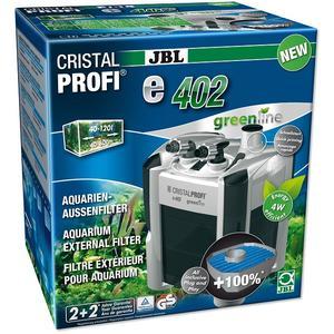 JBL CristalProfi e402 greenline - Außenfilter für Aquarien von 40-120 Litern