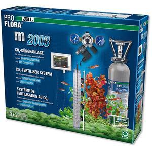 JBL PROFLORA m2003 - Komplette Aquarienpflanzendüngeanlage mit 2 kg-Flasche mit pH-Steuerung