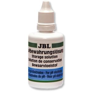 JBL Aufbewahrungslösung 50ml - Lösung zur Reinigung und Aufbewahrung von pH-Elektroden für Aquarien