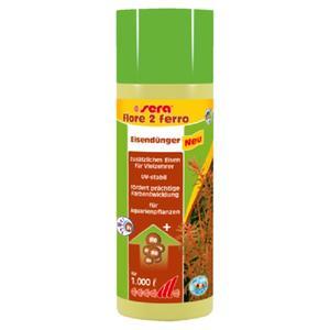 sera flore 2 ferro 50 ml (200 Liter)