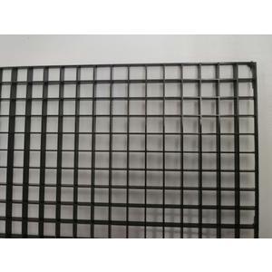Lichtrasterplatte schwarz15 x15 x 8mm 120x60cm