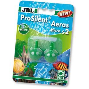 JBL ProSilent Aeras Micro S2 - Kugel-Ausströmersteine im Set für feine Luftblasen in Aquarien