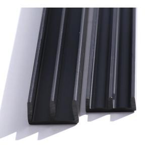 Glasführungsschienen für 6mm Glas (unten) je 1 1/2 Meter