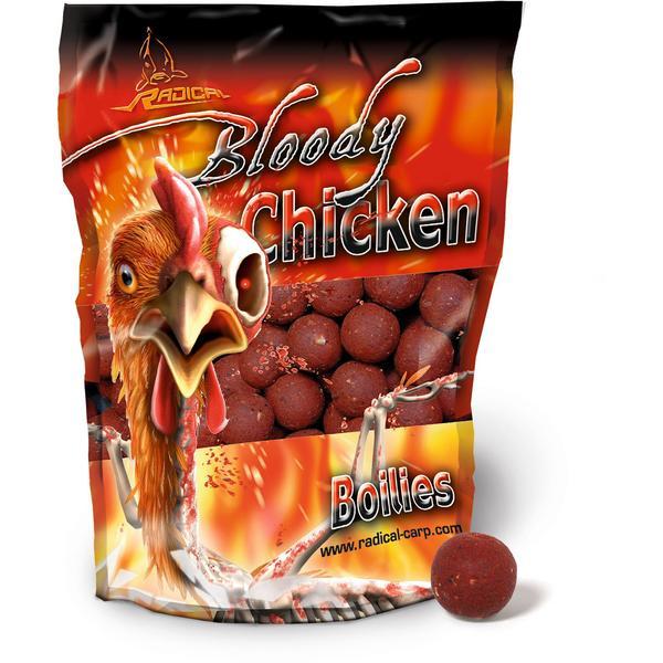 Radical Bloody Chicken Boilie 16mm (1.000 g)